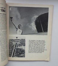 Load image into Gallery viewer, Official Report of the Olympic Games. IXth Winter Olympics Innsbruck and XVIII Olympiad TOKYO 1964. Rare Publication. Soft Cover
