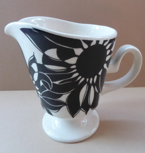 Funky 1960s JAVA Flower Power Milk Jug. Oslo Shape by Carlton Ware