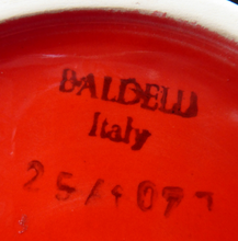 Load image into Gallery viewer, 1970s Vintage Italian BALDELLI POTTERY Vase
