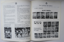 Load image into Gallery viewer, ATHLETICS Arena. Two Official Report of the Commonwealth Games. EDINBURGH 1970. VERY Rare Publications. Soft Cover