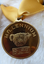 Load image into Gallery viewer, STEIFF BEAR. Limited Edition MILLENIUM Bear 2000 Teddy Bear Medallion
