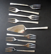 Load image into Gallery viewer, Vintage Viners Studio Pastry Forks by Gerald Benney