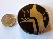 Load image into Gallery viewer, Very Rare ART DECO TOKALON Miniature Powder Compact with Original Contents. Good Condition