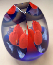 Load image into Gallery viewer, CAITHNESS GLASS. Limited Edition Vintage Paperweight. Los Tres Amigos by Neil Allan, 1997