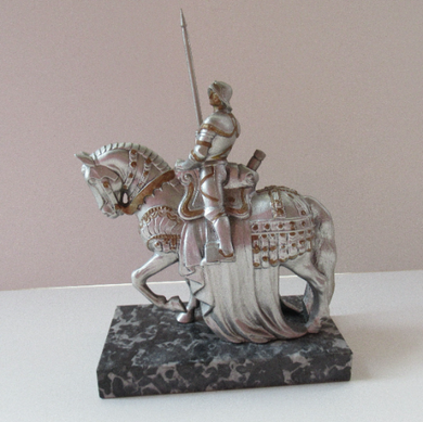 Cold Painted Table Top Match Striker Teutonic Knight