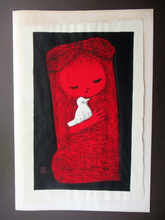 Load image into Gallery viewer, ICONIC EDINBURGH. JAPANESE Woodblock Print by Kaoru Kawano