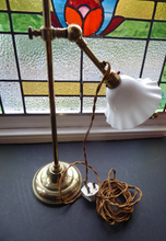 Load image into Gallery viewer, Edwardian Brass Lamp