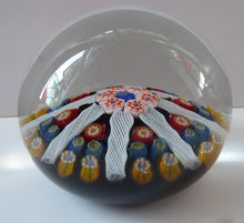 Load image into Gallery viewer, Vintage Scottish Glass Paperweight Lodestar 1980s