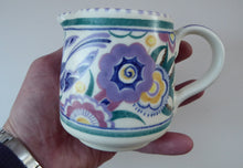 Load image into Gallery viewer, Early 1950s POOLE Pottery BLUEBIRD Pattern Decorative Jug