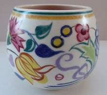 Load image into Gallery viewer, Early 1950s POOLE Pottery Floral Pattern Decorative Small Bowl