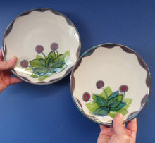 Load image into Gallery viewer, Vintage SCOTTISH WILD BERRIES Design Side Plate by Highland Stoneware. Hand Decorated