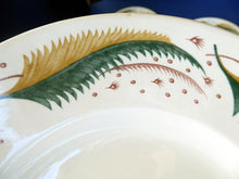 Load image into Gallery viewer, Rare 1950s Vintage Susie Cooper Pottery BRACKEN PATTERN Dinner Plates. KESTREL shape. 10 inches
