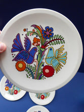 Load image into Gallery viewer, Vintage Acapulco VILLEROY & BOCH Rarer Side Plate with Full Image as Decoration: 6 1/4 inches diameter