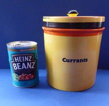 Load image into Gallery viewer, Extremely Rare  and Decorative Large Art Deco Carlton Ware Storage Jars: CURRANTS