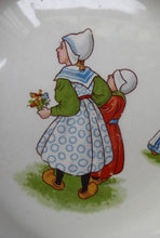 Load image into Gallery viewer, 1940s / 1950s BABY'S PLATE or BOWL. Charming Dish with Cute Images of Dutch Children