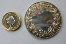 Load image into Gallery viewer, 1950s Royal Horticultural Society Silver Medal / Medallion.  NO INSCRIPTIONS and in Excellent Condition