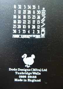 TWO 1970s DODO DESIGNS Sliding Puzzle Games. Nice large size and in good vintage condition. Rare