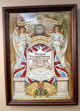 Load image into Gallery viewer, RARE Antique 1914 Memorial Tile from WWI. Argyll & Sutherland HIGHLANDERS Interest