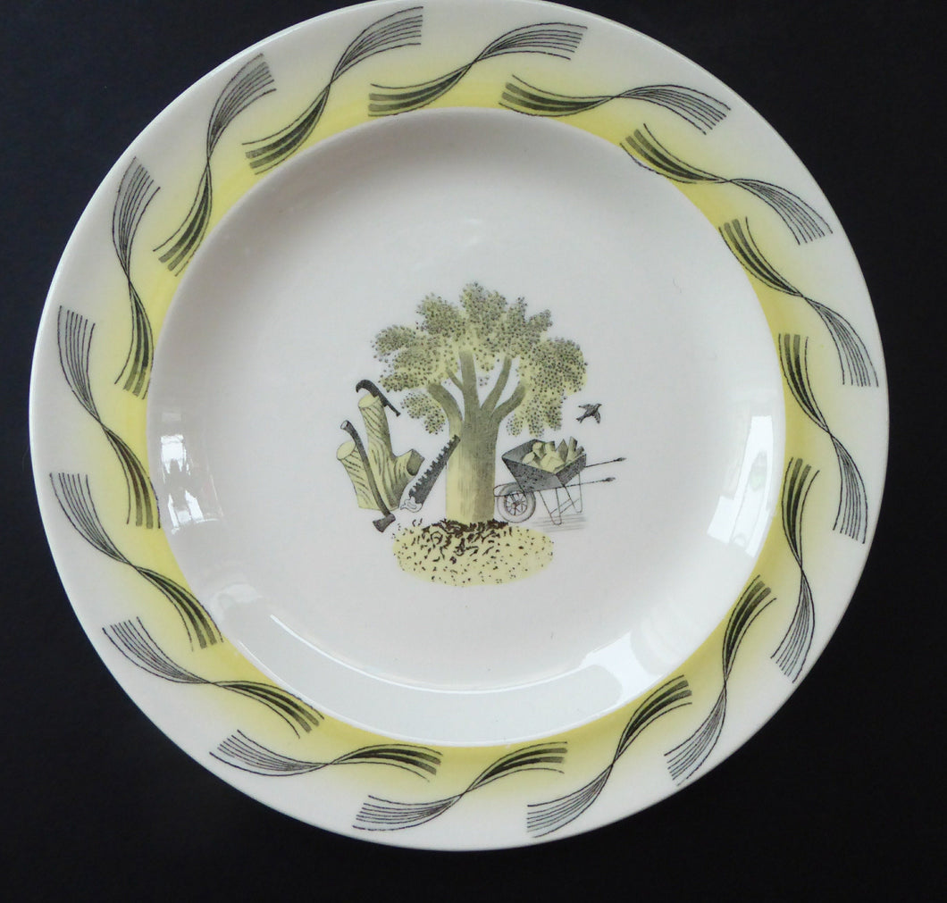 ERIC RAVILIOUS. Vintage 1953 Original Wedgwood Side Plates from the