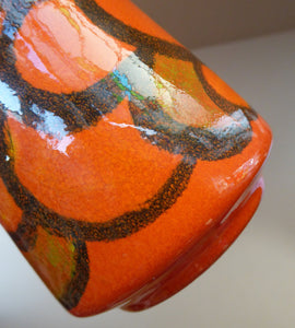 1970s POOLE DELPHIS Vase (Shape 34). 4 3/4 inches in height