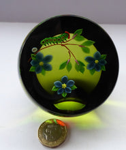 Load image into Gallery viewer, 993 Limited Edition Caithness CATERPILLAR Paperweight by William Manson