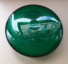 Load image into Gallery viewer, NORWEGIAN 1950s HADELAND Glass. Greenland Series LARGE Shallow Bowl or Platter. Designed by Arne Jon Jutrem. 9 3/4 inches