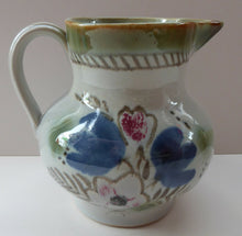 Load image into Gallery viewer, SCOTTISH POTTERY; Vintage BUCHAN, Portobello Pottery Stoneware Jug or Pitcher. 6 3/4 inches in height