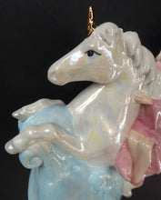 Load image into Gallery viewer, WADE Betty Boop Figurine FANTASY. From Limited Edition of 750. Betty Riding a Unicorn