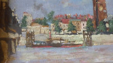 Load image into Gallery viewer, R.J. Abraham. Two Late 19th Century Views of CHELSEA. Both Oil Paintings on Panel