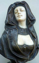 Load image into Gallery viewer, PETER TERESZCZUK (1875 - 1963).  Rare Viennese Bronze Sculptural Figure of an Exotic Lady. SIGNED