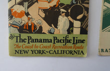 "Load image into Gallery viewer, 1920s PANAMA CANAL Souvenir Guide.  ""My Trip Through the Panama Canal from the Atlantic to the Pacific """