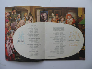 Collectable 1962 Wonderful World Of The Brothers Grimm. ORIGINAL MGM Film Programme
