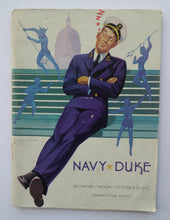 Load image into Gallery viewer, 1943 US College Football Game Programme Navy vs Duke NCAA. Baltimore Stadium. Rare Publication