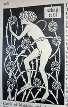 Load image into Gallery viewer, AUBREY BEARDSLEY: 1927 Rare Copy of the Morte d'Arthur. Lavishly Illustrated 3rd Edition Volume