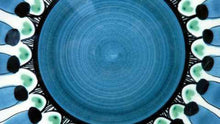 Load image into Gallery viewer, Attractive Vintage 1950s / 60s NORWEGIAN Hand Made Plate. Elle Pottery