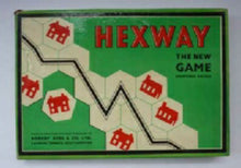 Load image into Gallery viewer, 1940s Vintage Hexway Board Game. Very Rare British Puzzle / Board Game