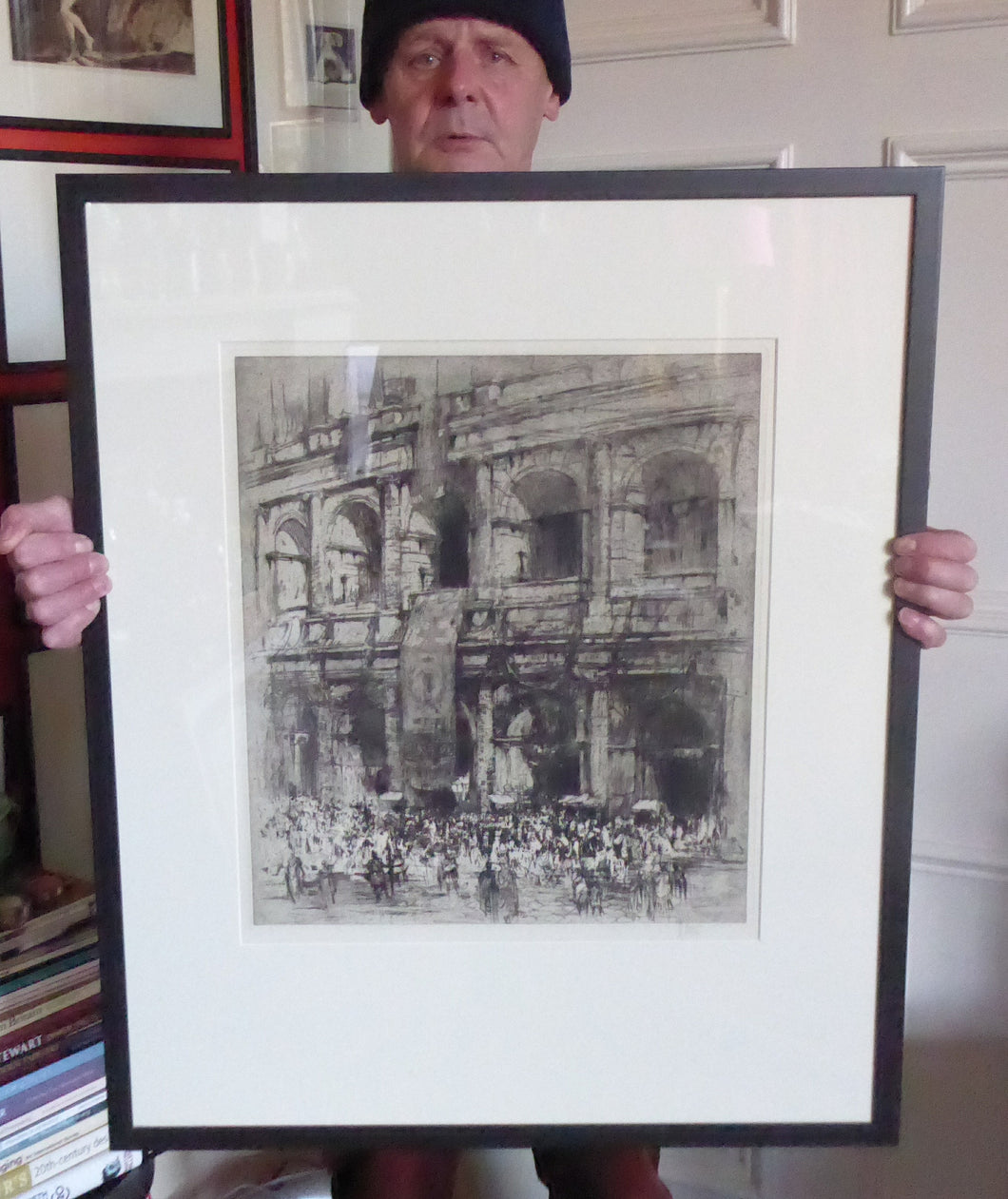 LISTED ARTIST: William Walcot (1874 - 1943). Large Etching entitled