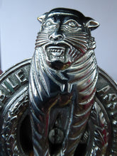 Load image into Gallery viewer, Very Rare 1930s Automobile Association of Bengal (India) Car Badge - with Tiger Motif. Excellent Vintage Condition
