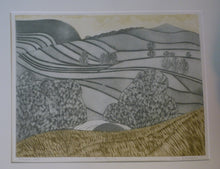 Load image into Gallery viewer, ORIGINAL ETCHING: John Brunsdon (1933 - 2014). Yorkshire Dales. Pencil Signed Limited Edition