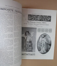 Load image into Gallery viewer, RARE 1905 ART MAGAZINE. The Modern Lithographer. Published London June 1905; Includes Genuine Art Nouveau Lithograph