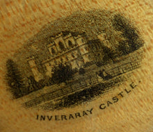 Load image into Gallery viewer, Antique 19th Century MAUCHLINE Ware Miniature Stamp Box, with a wee image of Inveraray Castle