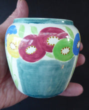 Load image into Gallery viewer, SCOTTISH POTTERY. Sweet Little 1920s BOUGH Ceramic Pot or Miniature Vase. Pretty Hand Painted Floral Design