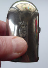 Load image into Gallery viewer, Vintage COTY Miniature French Glass Perfume Bottle in Metal Fitted Box