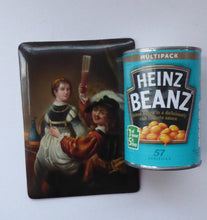 Load image into Gallery viewer, Rembrandt and Saskia ANTIQUE German Porcelain painted PLAQUE. KPM Berlin Style