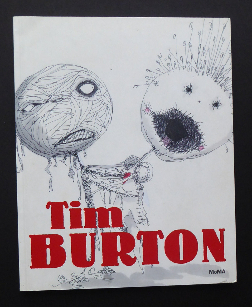 MOMA American Exhibition Catalogue on the work of TIM BURTON. Fine Illustrations. Excellent Condition