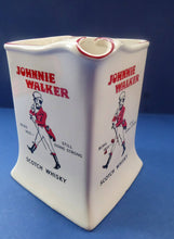 Load image into Gallery viewer, 1950s Wade JOHNNIE WALKER Whisky Advertising Jug. Very Quirky Shape with Handle Built into the Main Body Section