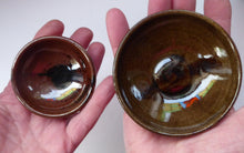 Load image into Gallery viewer, SCOTTISH POTTERY. Two Vintage Studio Pottery Stoneware Pin Dishes by Tom Lochhead, Kirkcudbright