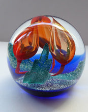 Load image into Gallery viewer, SCOTTISH Caithness Glass LIMITED EDITION Paperweight: Accord by Margot Thomson; 1994