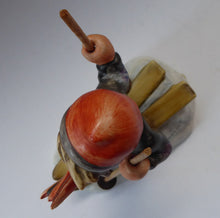 Load image into Gallery viewer, Collectable 1960s Issue. HUMMEL Figurine. The Skier with Original Wooden Skis