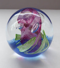 Load image into Gallery viewer, Fabulous LIMITED EDITION Scottish Caithness Glass Paperweight: Elfin Dance by Alastair MacIntosh; 1990